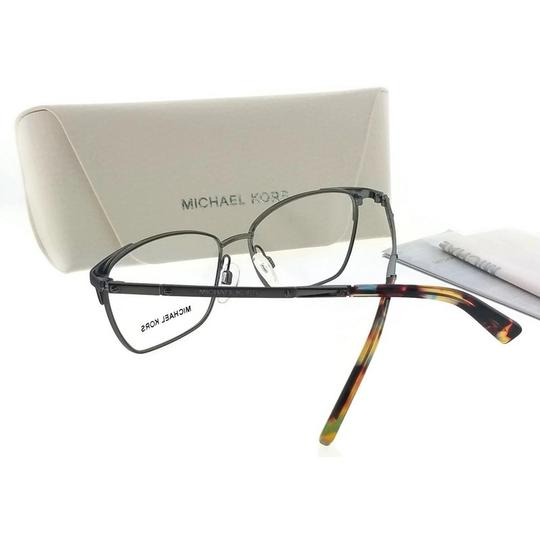 Michael Kors MK3001-1025-52 Rectangular Women's Gunmetal Frame Genuine Eyeglasses Image 2