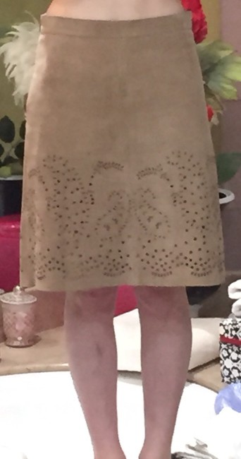 Theory Skirt Taupe