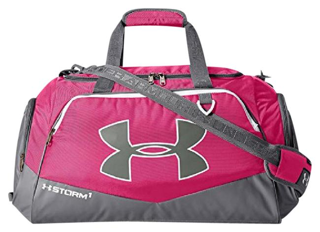 Item - Undeniable Md Duffel Tropical Pink/Graphite Ballistic Polyester Weekend/Travel Bag
