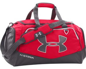 4cec55fe40 Under Armour Undeniable Duffel Undeniable Medium Gym Red Graphite Travel Bag
