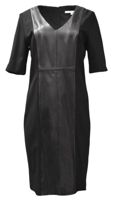 Preload https://img-static.tradesy.com/item/21955006/donna-degnan-black-leather-short-night-out-dress-size-12-l-0-1-650-650.jpg