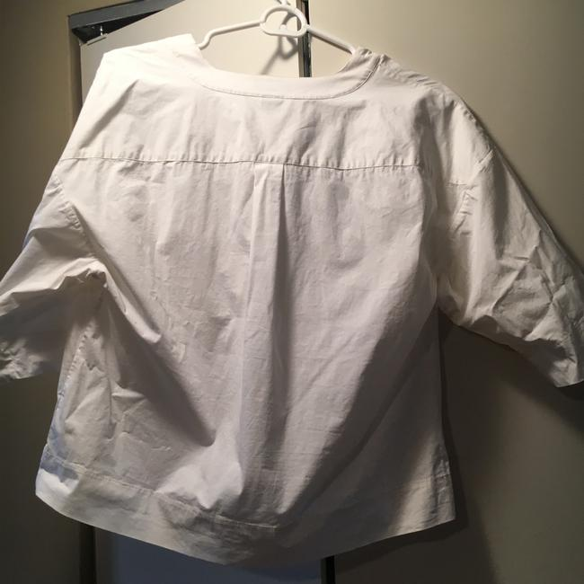 Theory Button Down Shirt white Image 1