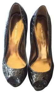 Via Spiga Brown Pumps