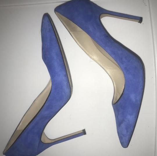Manolo Blahnik Electric Blue Pumps Image 2
