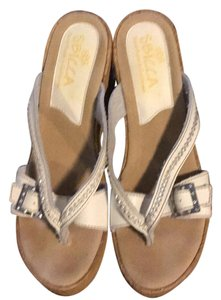 Sbicca white Wedges