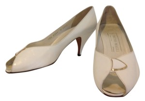 Bruno Magli White Pumps