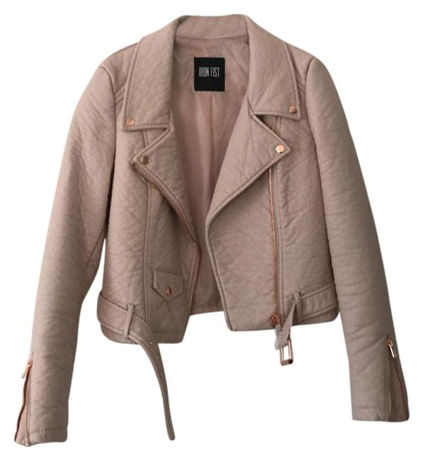 Preload https://img-static.tradesy.com/item/21955948/iron-fist-light-pink-cropped-moto-jacket-size-6-s-0-1-650-650.jpg
