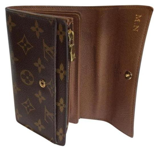 Louis Vuitton Classic Monogram Canvas Alexandra Wallet with Coin Pocket Image 0