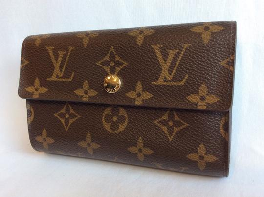 Louis Vuitton Classic Monogram Canvas Alexandra Wallet with Coin Pocket Image 1