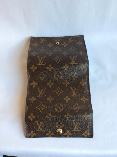 Louis Vuitton Classic Monogram Canvas Alexandra Wallet with Coin Pocket Image 3