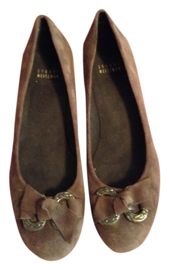 Stuart Weitzman Great Brown suede Wedges
