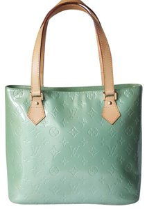 Louis Vuitton Patent Leather Tote in Mint Green