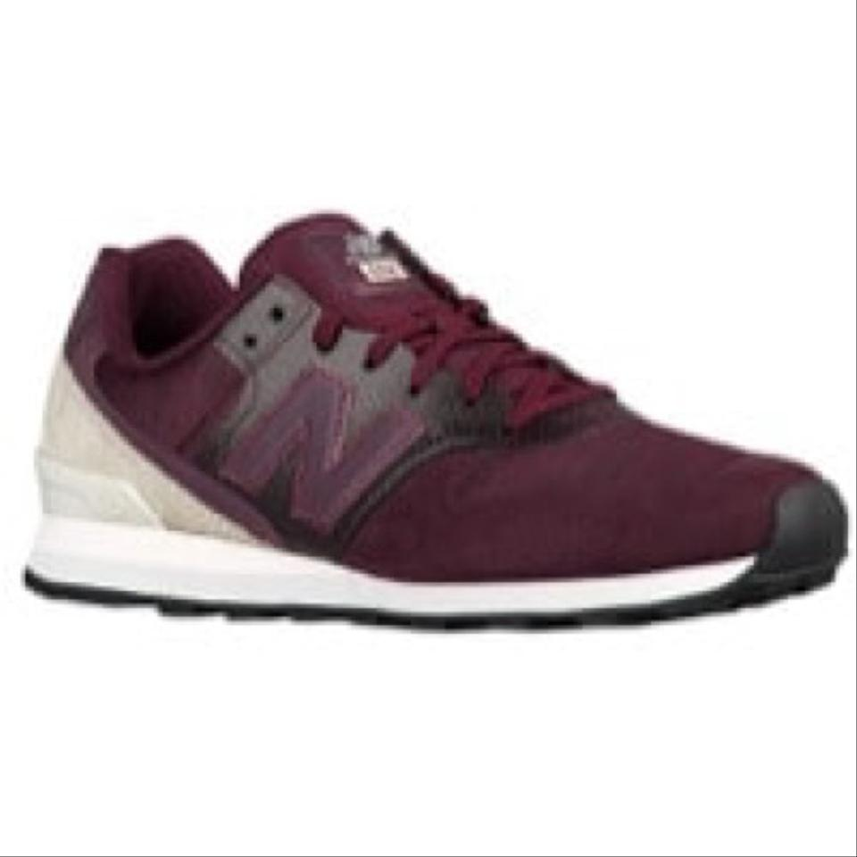 taille 40 dc36e aeffc New Balance Suede Maroon/Burgundy 696 Nb Sneakers Size US 8 Regular (M, B)
