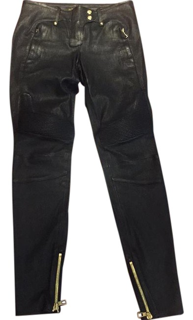 Preload https://item3.tradesy.com/images/balmain-x-h-and-m-black-leather-moto-skinny-pants-size-6-s-28-21957297-0-1.jpg?width=400&height=650