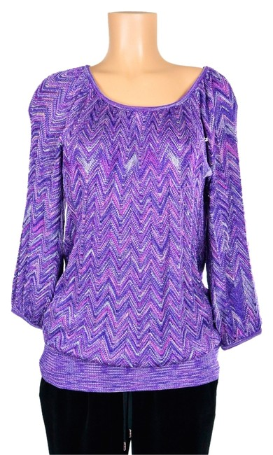 Preload https://item4.tradesy.com/images/inc-international-concepts-purple-white-multicolor-voltage-zig-zag-scoop-neck-sweaterpullover-size-2-2195763-0-0.jpg?width=400&height=650