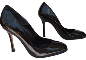 Brian Atwood Black patent leather Pumps
