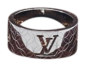 Louis Vuitton LOUIS VUITTON Stainless Steel Champs Elysees Ring Size 9.5