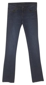 Seven7 Denim Dark Slim Skinny Jeans-Dark Rinse