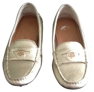Coach Metalic Gold Flats