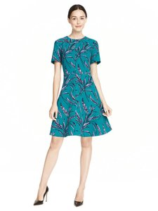 Draper James short dress Green Date Night Fit And Flare on Tradesy