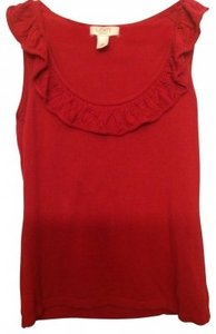 Ann Taylor LOFT Top Berry Red