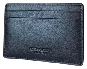 Coach coach men's credit card wallet with gift box