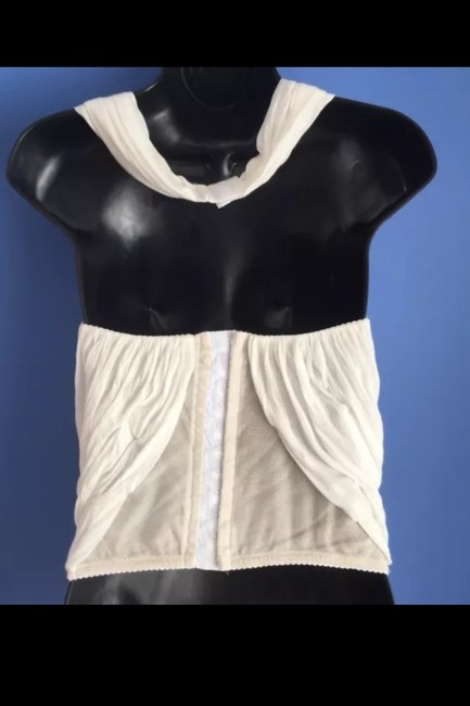 CoSTUME NATIONAL Top Ivory