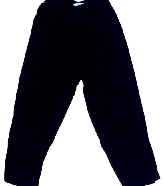 Item - Black Vintage Velvet Pants Size 10 (M, 31)