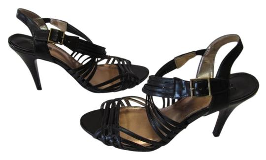 Daisy Fuentes Size 8.50 M Very Good Condition BROWN Sandals