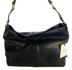Antonio Melani Leather Shoulder Bag