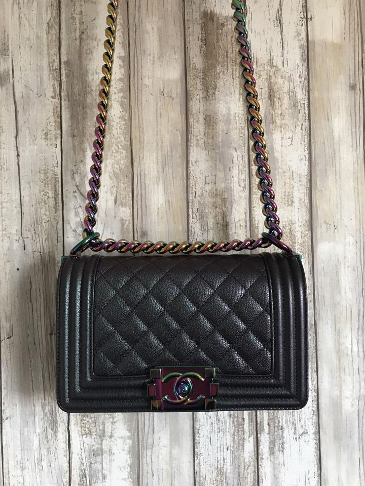 335848252e0 Chanel Rainbow Chain Rainbow Limited Flap Shoulder Bag Image 11.  123456789101112