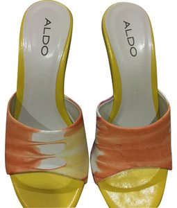 ALDO Yellow/orange Mules