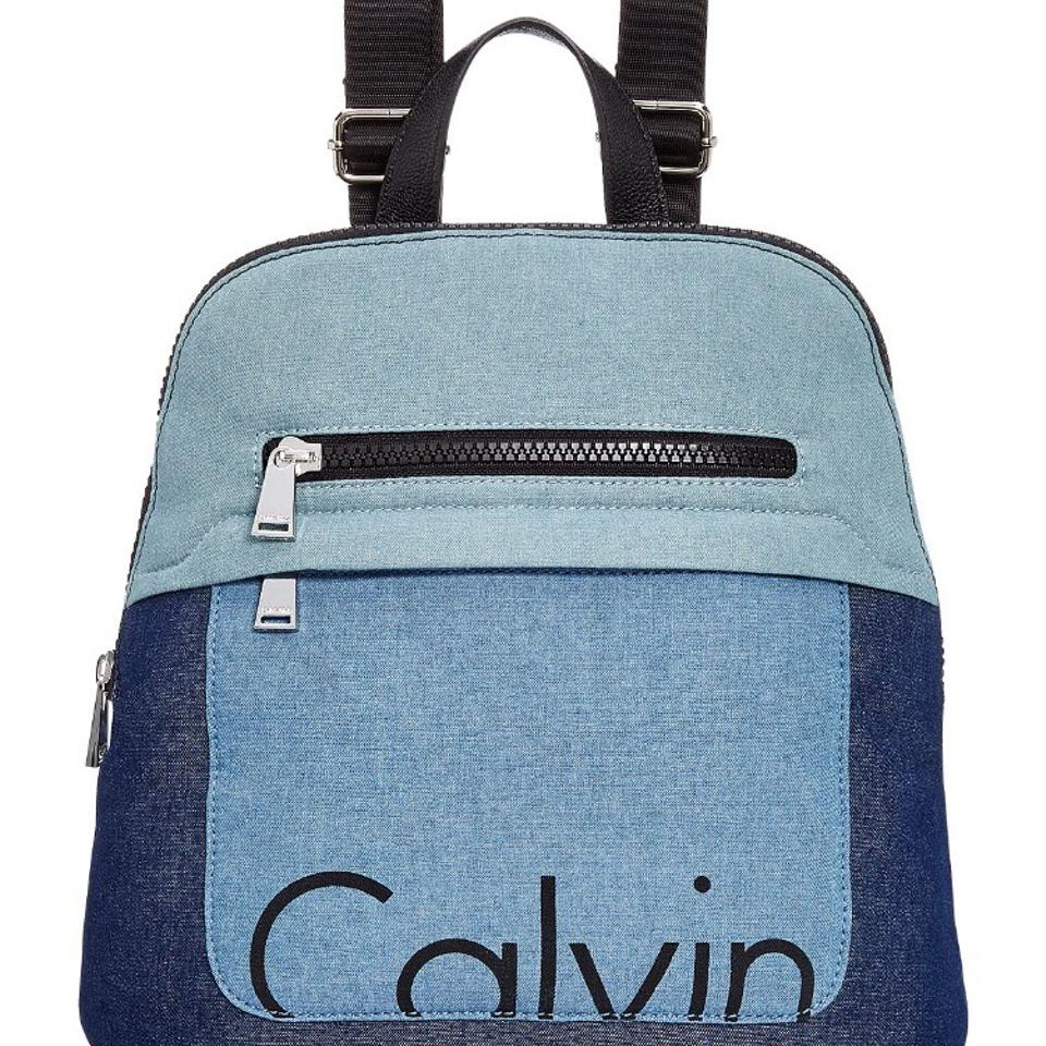 f2685da68 Calvin Klein Athleisure Denim Canvas Backpack - Tradesy