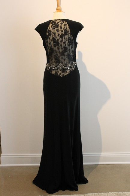 Jovani Mob Mog Mother Of The Bride Mother Of The Groom Cocktail Gala Gown Daring Sparkle Illusion Lace Dress