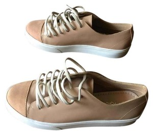 KAANAS Leather Sneakers Flats Blush NWOT Athletic