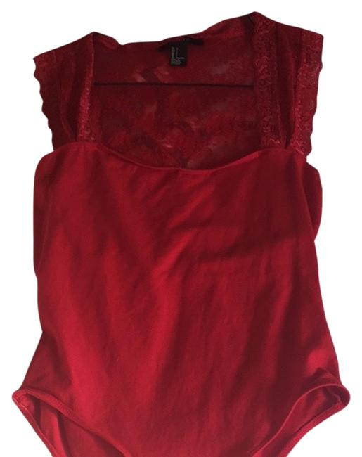 Forever 21 Top Red
