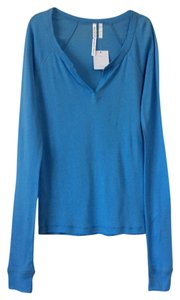 Out From Under T Shirt Cerulean blue