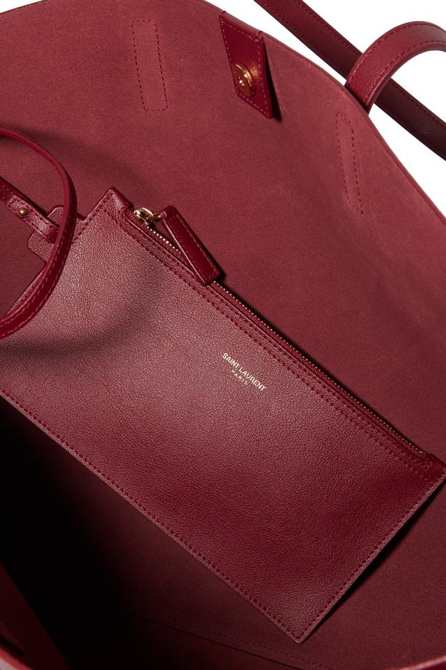Saint Laurent Ysl Shopping Ysl Ysl Shopping Tote in Burgundy Image 7.  12345678 d16e7afd02041