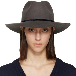 Rag   Bone rag   bone grey Range Fedora medium 6e04708cd78