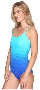 Speedo Ombre Shirred One PieceSwimsuit