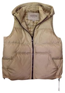 Coach Puffer Nwt Ivory Large Vest