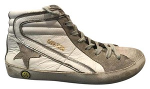 Golden Goose Deluxe Brand White/grey Athletic