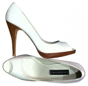 Steven by Steve Madden White Patent Pumps