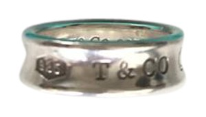 Tiffany & Co. Tiffany & Co. 1837 Stering SIlver Concave Band Ring