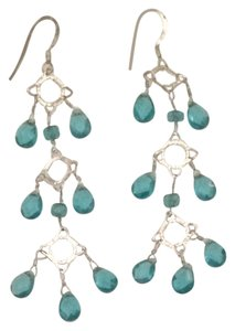 bebe Turquoise Dangle Earrings