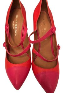 Kurt Geiger London Orange/Fuschia Pumps
