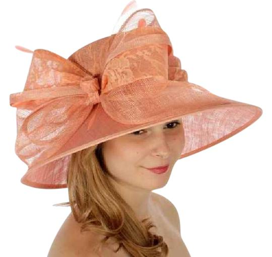 Preload https://img-static.tradesy.com/item/21964458/apricot-new-lace-covered-sinamay-formal-dressy-hat-0-1-540-540.jpg