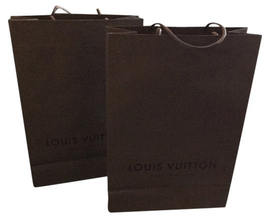 Louis Vuitton Lot Of 2x 10x14 Louis Vuitton Shopping Bags