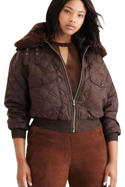 Preload https://item1.tradesy.com/images/ralph-lauren-chocolate-quilted-bomber-jacket-puffyski-coat-size-22-plus-2x-21964995-0-1.jpg?width=400&height=650