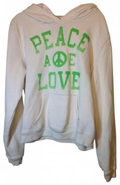 Preload https://item1.tradesy.com/images/american-eagle-outfitters-white-sweatshirthoodie-size-8-m-21965-0-0.jpg?width=400&height=650
